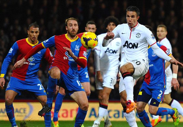 Crystal Palace 0-2 Manchester United: Van Persie & Rooney get visitors back to winning ways