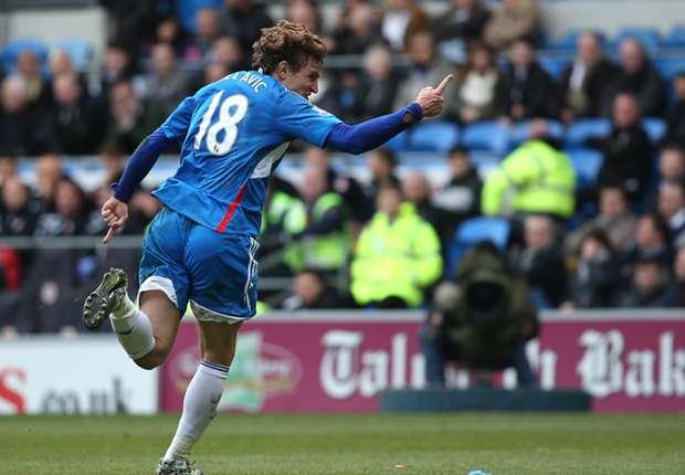 Hull City striker Nikica Jelavic