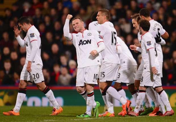 Laporan Pertandingan: Crystal Palace 0-2 Manchester United