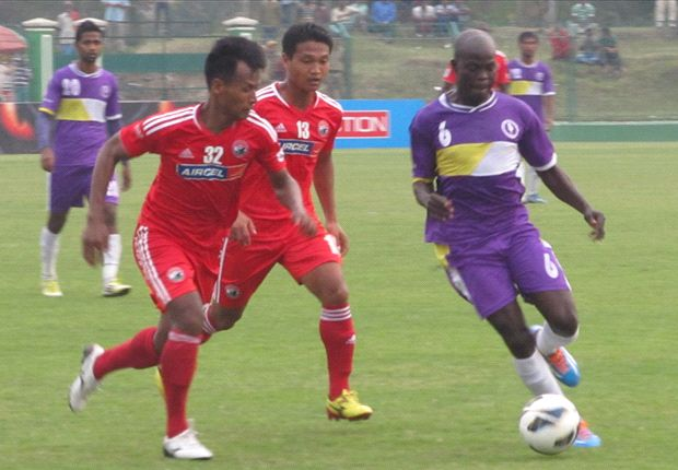 United SC 2-2 Shillong Lajong: The visitors fight back to earn a point