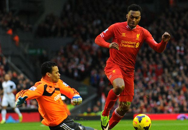 Laporan Pertandingan: Liverpool 4-3 Swansea City