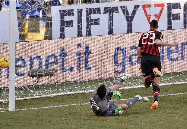 Sampdoria 0-2 AC Milan: Rossoneri bag first back-to-back Serie A wins of the season