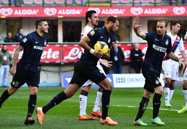 Inter 1-1 Cagliari: Rolando bags point for Nerazzurri