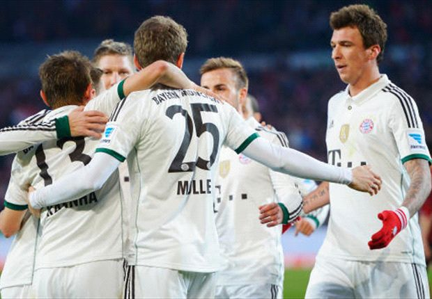 Hannover 0-4 Bayern: Bavarians rampage to 14th Bundesliga win in a row
