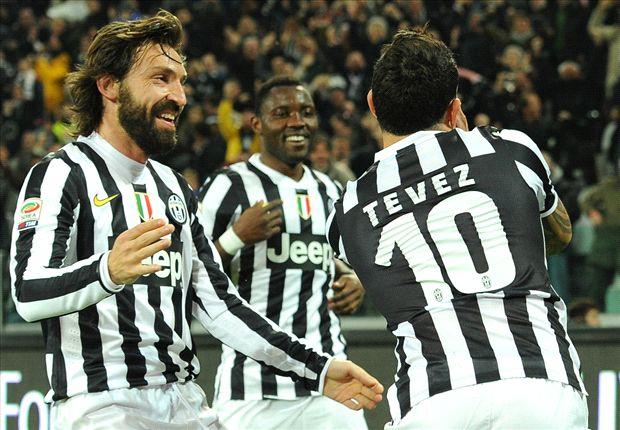 Con gol de Tevez, Juventus ganó el clásico