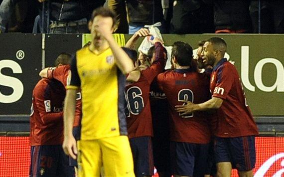 Osasuna Atletico de Madrid La Liga 02232014