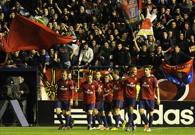 Osasuna 3-0 Atletico Madrid: Rojiblancos blitzed by Garcia's men to gift Real Liga lead