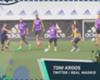 Goal en las redes: El gran juego de pies de Toni Kroos