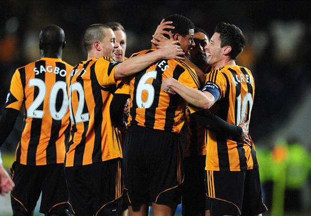 Hull City 2-1 Brighton: Bruce's men set up sixth-round tie with Sunderland