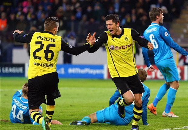 Zenit double not my last Dortmund goals - Lewandowski