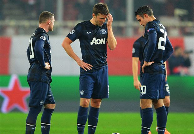 Olympiakos leave United a Herculean task - Tuesday's Champions League in pictures
