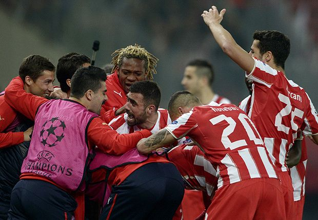 Olympiakos boss Michel: Two-goal lead will not be enough against Manchester United