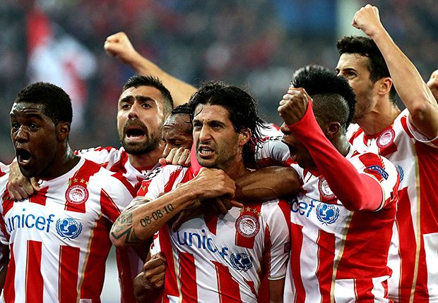 Olympiakos seal Greek Super League title
