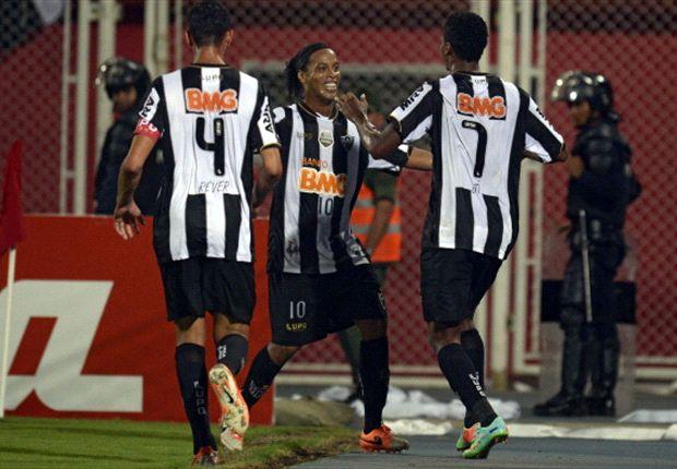 Copa Libertadores: Atlético Mineiro venció 2-1 a Independiente Santa Fe
