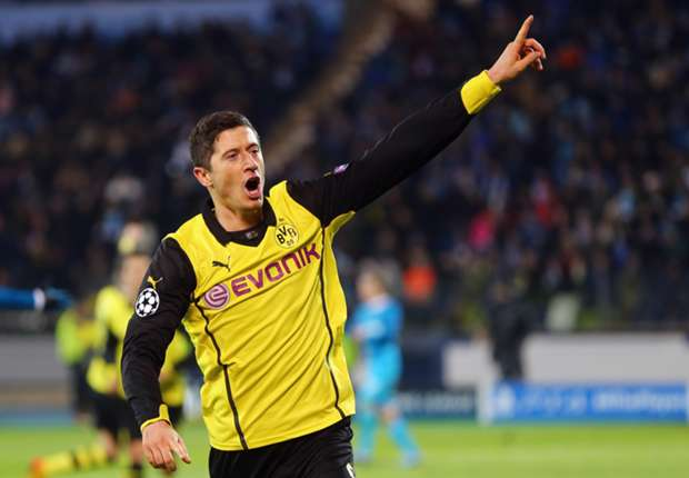 Lewandowski desperate for Dortmund to finish second