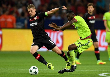 Ratings: Leverkusen 2-2 CSKA Moscow