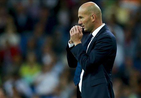 Preocupação para Zidane