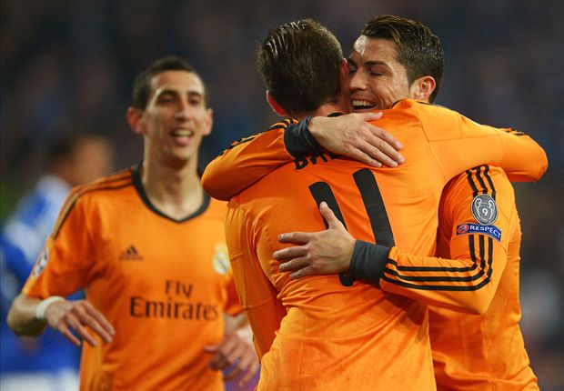 Schalke 1-6 Real Madrid: Ronaldo, Bale & Benzema embarrass hosts