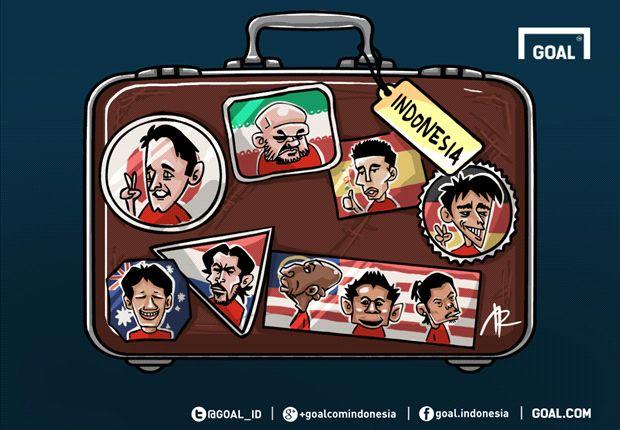 INDONESIANS ABROAD: Sergio Van Dijk Cemerlang, Stefano Lilipaly Menuju Jepang