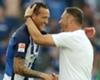 Schieber bewahrt Hertha vor Niederlage