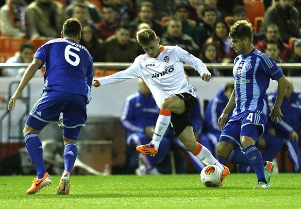 Valencia 0-0 Dinamo de Kiev: El equipo ché progresa también en Europa