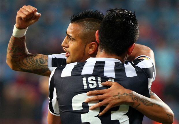 Trabzonspor 0-2 Juventus (0-4 agg.): Vidal and Osvaldo strike as Bianconeri cruise in Turkey