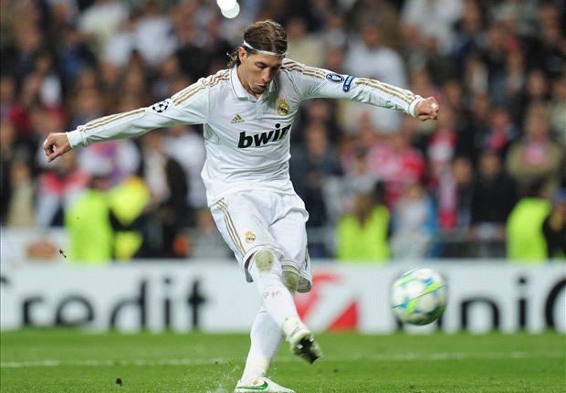 Ramos, en el penalti decisivo de la pasada campaña