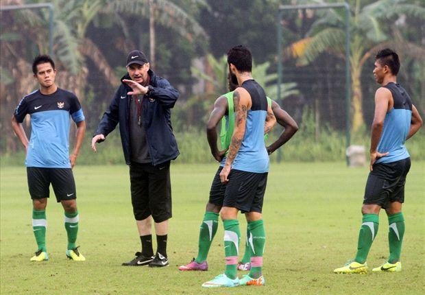 Riedl terus mempersiapkan timnya jelang uji coba melawan Qatar.
