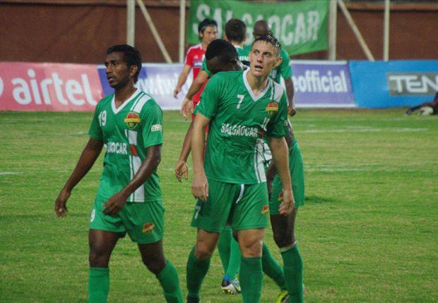 Salgaocar FC 3-1 Shillong Lajong FC: Duffy brace guides Goans to victory