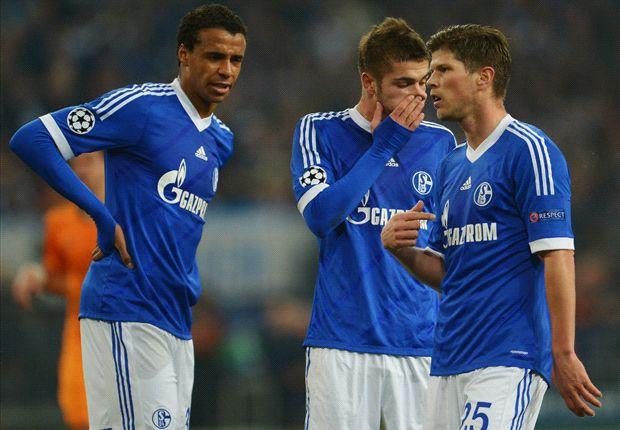 Schalke kassierte innheralb von nur vier Tagen zwei heftige Pleiten gegen Real Madrid und Bayern