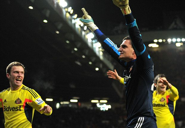 Mannone urges Sunderland focus: We are not safe yet