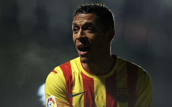 Barcelona full-back Adriano