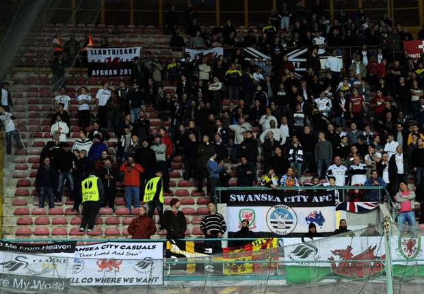 Swansea slam 'disgraceful' fan treatment at Napoli