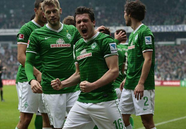 Junuzovic und Werder Bremen bejubelten den ersten Sieg 2014