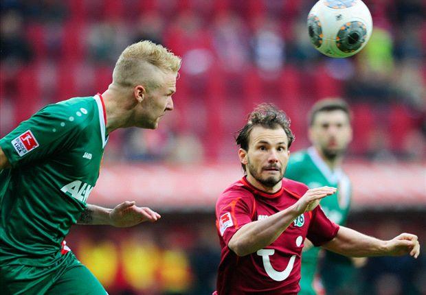 Mittelfeldgeplänkel in der Bundesliga: Zwischen Augsburg und Hannover gab es keinen Sieger