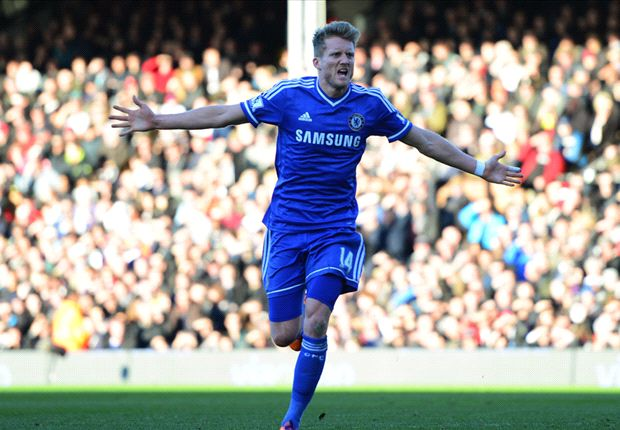 Fulham 1-3 Chelsea: Schurrle hat-trick extends Chelsea's lead at the top