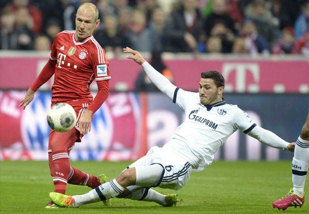 Robben salutes 'best Bayern half'