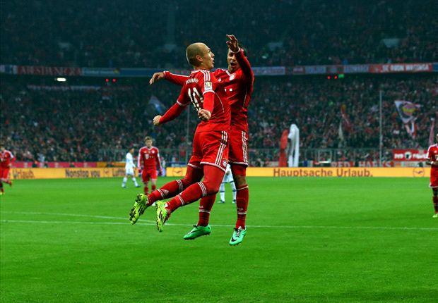 Bayern Munich 5-1 Schalke: Robben hat-trick piles pressure on Keller