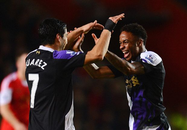 Southampton 0-3 Liverpool: Suarez stars as Liverpool remain in title frame
