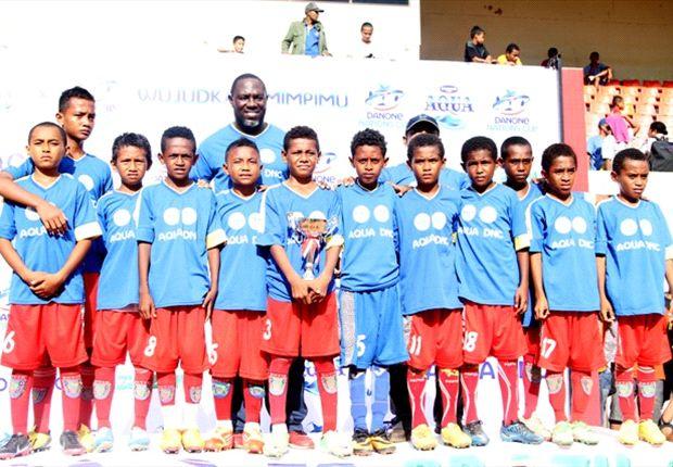 SSB Batik A merayakan kemenangan