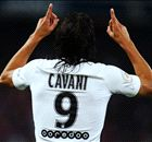 Cavani runs riot as PSG hit Caen for six