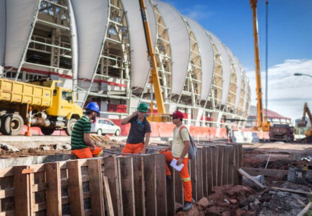World Cup stadium might not be ready, admits Brazilian mayor