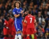 Neville tacle David Luiz