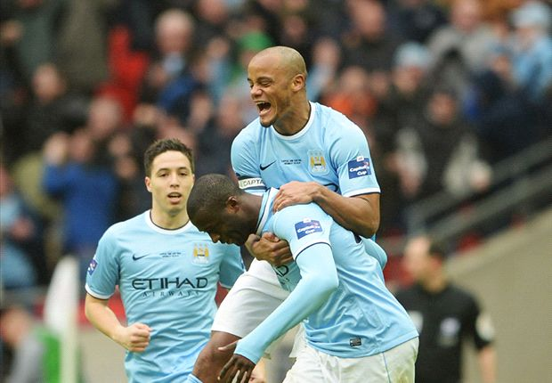Toure dominates Wembley again as Manchester City's big moment man
