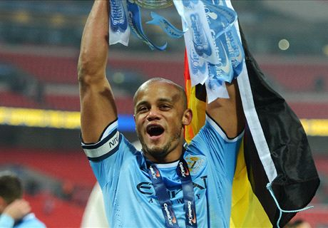 FA Cup defeat inspired Manchester City - Kompany