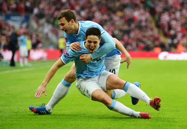 Nasri thrilled to end Wembley hoodoo