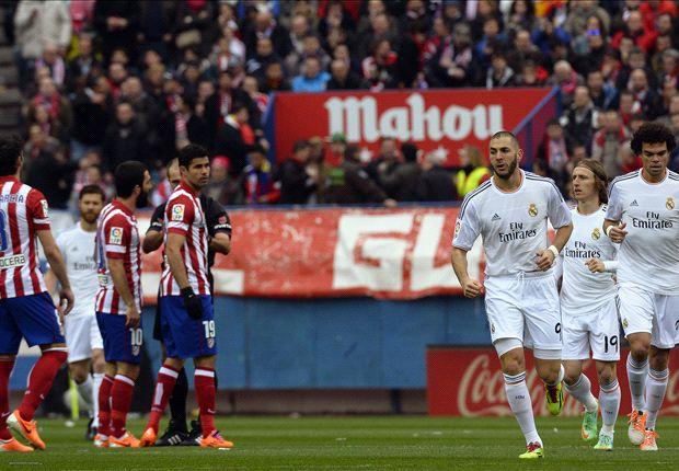 Bloedstollend gelijkspel tussen Atlético en Real