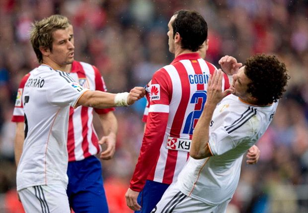 Ancelotti: Atletico made it a violent derby
