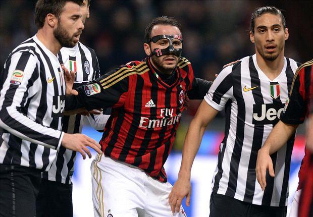 Juve hatte Milan im Griff