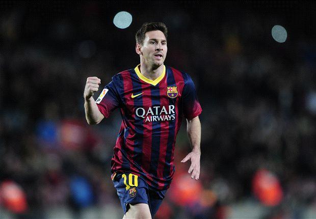 Messi glänzte gegen Almeria nicht nur durch sein Freistoßtor